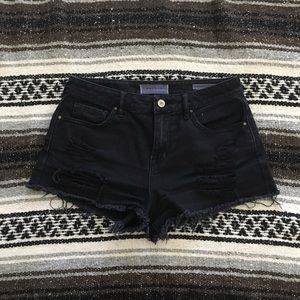 PacSun Distressed High Rise Short (25)